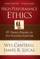 High-Performance Ethics: 10 Timeless Principles for Next-Generation Leadership - eBook