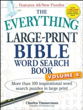 The Everything Large-Print Bible Word Search Book Vol 4