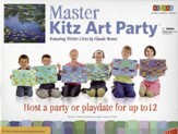 Master Kitz Art Party: Water Lilies by Claude Monet