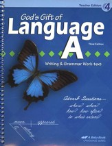 Abeka Language A (4th Grade) Teacher's Edition