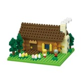 Swiss Log Cabin, Nano Blocks