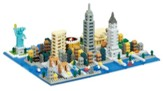 New York Skyline, Nano Blocks