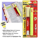 6-in-1 Bible Study Marking Combo Set