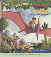 Magic Tree House: Books 1-8 Unabridged Audiobook on CD