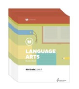 Lifepac Language Arts, Grade 4,  Workbook Set