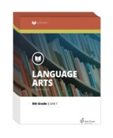 Lifepac Language Arts, Grade 8,  Workbook Set