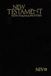 NIV Pocket New Testament, Psalms & Proverbs (Black)