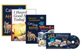 Cat and Dog Attitudes: Making God  Famous Complete Elementary Homeschool Curriculum Kit
