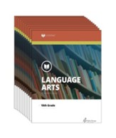 Lifepac Language Arts, Grade 10,  Workbook Set