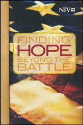 NIV Finding Hope Beyond The Battle Bible, softcover