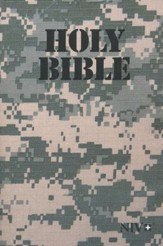 NIV Holy Bible, Military Edition; Camouflage Softcover, Army Camo