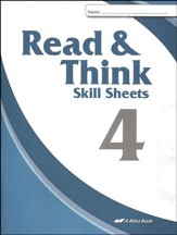 Abeka Read & Think Skill Sheets 4