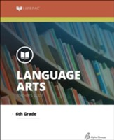 Lifepac Language Arts, Grade 6, Teacher's Guide