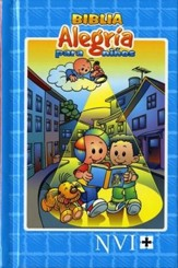 Biblia Alegría para Niños NVI, Enc. Dura  (NVI Children's Joy Bible for Boys, Hardcover)