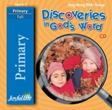 Discoveries in God's Word Primary (Grades 1-2) Audio CD