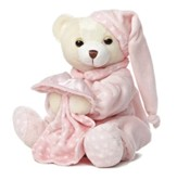 Dreamy Baby Girl Plush Bear