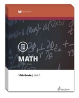 Lifepac Math, Grade 11 (Algebra II), Workbook Set