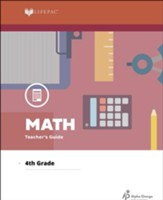 Lifepac Math, Grade 4, Teacher's Guide