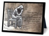 Praying Woman Sculpture Plaque