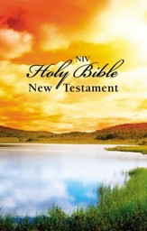 NIV Outreach New Testament, Scenic Cover