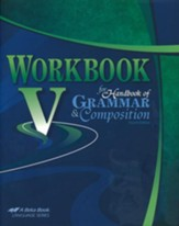 Abeka Workbook V for Handbook of  Grammar & Composition