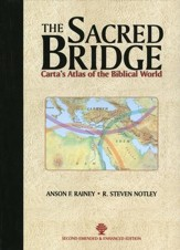 The Sacred Bridge: Carta's Atlas of the Biblical World  - Slightly Imperfect