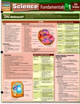 Science Fundamentals 1: Life Science-Cells, Plants, Animals, Laminated Guide