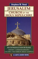 Jerusalem: Church of the Holy Sepulchre A Carta Guide Book - Slightly Imperfect