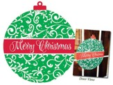 Merry Christmas, Ornament Door Hanger