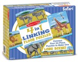 Safari Linking Floor Puzzle, 96 Pieces