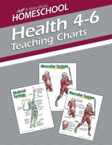 Abeka Homeschool Health Teaching Charts--Grades 4 to 6