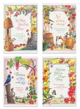 Garden Blooms, Get Well Cards, Box of 12