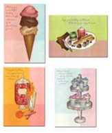 Sweet Celebrations, Birthday Cards, Box of 12