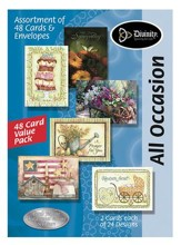 All Occasion KJV Greeting Cards, Box of 48