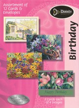 Gardens Birthday Cards, KJV, Box of 12