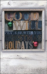 Peace Be With You Christmas Cards, Box of 16