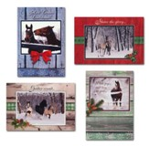 Holiday Horses Christmas Cards, Box of 12