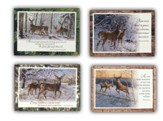 Winter Wildlife Christmas Cards, Box of 12