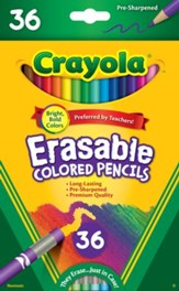 Crayola, Erasable Colored Pencils, 36 pieces