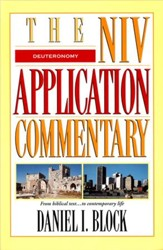Deuteronomy: NIV Application Commentary [NIVAC]