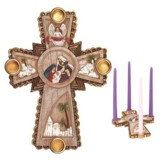 Nativity Advent Cross