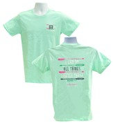 I Can Do All Things Shirt, Mint Green, Small