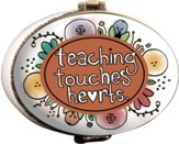 Teaching Touches Hearts Keepsake Box