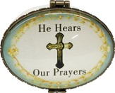 He Hears Our Prayers, Keepsake Jewelry Box