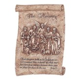 The Nativity Scroll Wall Plaque