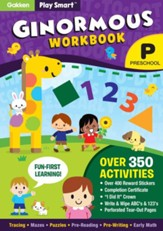 Play Smart Ginormous Workbook: Preschool