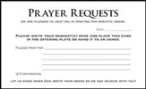 Prayer Request Cards, 50