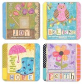 Whimsical Inspirations Cards, Box of 16