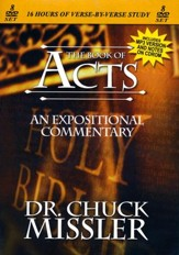 The Book of Acts - An Expositional Commentary on DVD with CD-ROM