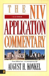 1 & 2 Kings: NIV Application Commentary [NIVAC]